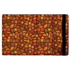 Pattern Background Ethnic Tribal Apple Ipad 3/4 Flip Case by Simbadda