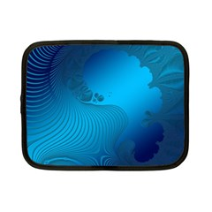 Fractals Lines Wave Pattern Netbook Case (small)