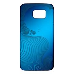 Fractals Lines Wave Pattern Galaxy S6 by Simbadda