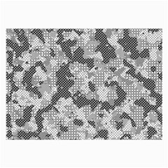 Camouflage Patterns  Large Glasses Cloth by Simbadda