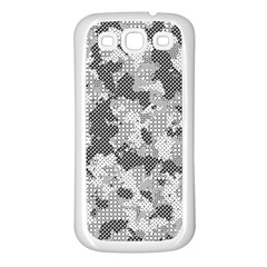 Camouflage Patterns  Samsung Galaxy S3 Back Case (white) by Simbadda