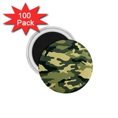 Camouflage Camo Pattern 1 75  Magnets (100 Pack)  by Simbadda