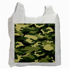 Camouflage Camo Pattern Recycle Bag (One Side) by Simbadda