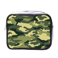 Camouflage Camo Pattern Mini Toiletries Bags by Simbadda