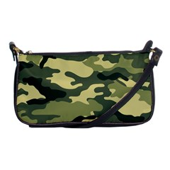 Camouflage Camo Pattern Shoulder Clutch Bags by Simbadda