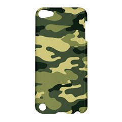 Camouflage Camo Pattern Apple Ipod Touch 5 Hardshell Case by Simbadda