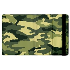Camouflage Camo Pattern Apple Ipad 3/4 Flip Case by Simbadda