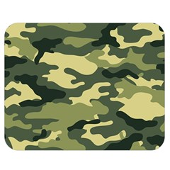Camouflage Camo Pattern Double Sided Flano Blanket (medium)  by Simbadda