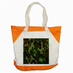 Military Camouflage Pattern Accent Tote Bag by Simbadda