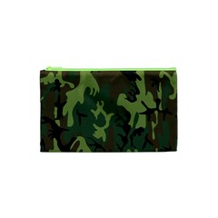 Military Camouflage Pattern Cosmetic Bag (xs) by Simbadda