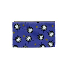 Rockets In The Blue Sky Surrounded Cosmetic Bag (small)  by Simbadda