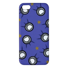 Rockets In The Blue Sky Surrounded Iphone 5s/ Se Premium Hardshell Case by Simbadda