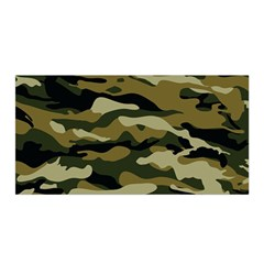 Military Vector Pattern Texture Satin Wrap by Simbadda
