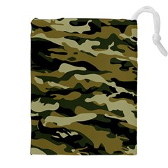 Military Vector Pattern Texture Drawstring Pouches (xxl) by Simbadda