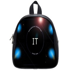 This Is An It Logo School Bags (small)  by Simbadda