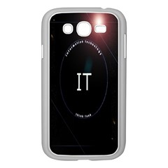 This Is An It Logo Samsung Galaxy Grand DUOS I9082 Case (White)