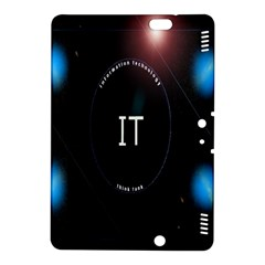 This Is An It Logo Kindle Fire Hdx 8 9  Hardshell Case by Simbadda