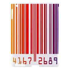 Colorful Gradient Barcode Apple Ipad 3/4 Hardshell Case (compatible With Smart Cover) by Simbadda