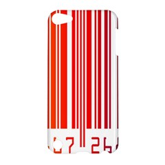 Colorful Gradient Barcode Apple Ipod Touch 5 Hardshell Case by Simbadda
