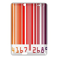 Colorful Gradient Barcode Amazon Kindle Fire Hd (2013) Hardshell Case by Simbadda