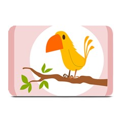 Yellow Bird Tweet Plate Mats by Alisyart