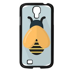 Animals Bee Wasp Black Yellow Fly Samsung Galaxy S4 I9500/ I9505 Case (black) by Alisyart