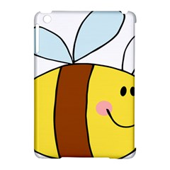 Animals Bee Wasp Smile Face Apple Ipad Mini Hardshell Case (compatible With Smart Cover) by Alisyart