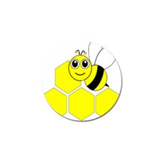 Bee Wasp Yellow Golf Ball Marker (10 Pack) by Alisyart