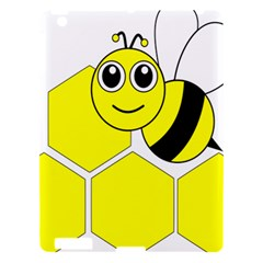 Bee Wasp Yellow Apple Ipad 3/4 Hardshell Case by Alisyart