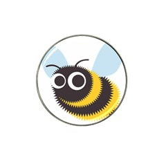 Bee Wasp Face Sinister Eye Fly Hat Clip Ball Marker (10 Pack) by Alisyart