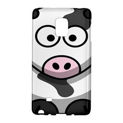 Animals Cow  Face Cute Galaxy Note Edge by Alisyart
