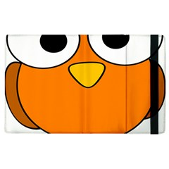 Bird Big Eyes Orange Apple Ipad 3/4 Flip Case by Alisyart