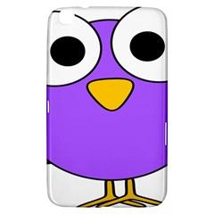 Bird Big Eyes Purple Samsung Galaxy Tab 3 (8 ) T3100 Hardshell Case  by Alisyart