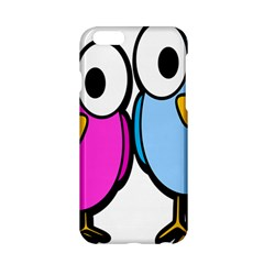 Bird Big Eyes Pink Blue Apple Iphone 6/6s Hardshell Case by Alisyart