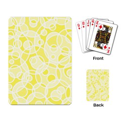 Pattern Playing Card by Valentinaart