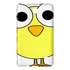 Bird Big Eyes Yellow Green Samsung Galaxy Tab 4 (8 ) Hardshell Case  by Alisyart