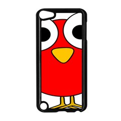 Bird Big Eyes Red Apple Ipod Touch 5 Case (black) by Alisyart