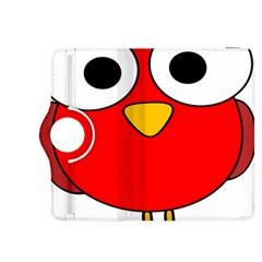 Bird Big Eyes Red Kindle Fire Hdx 8 9  Flip 360 Case by Alisyart