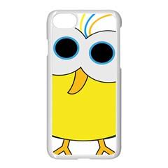 Bird Big Eyes Yellow Apple Iphone 7 Seamless Case (white) by Alisyart