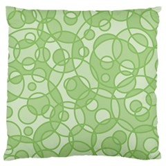 Pattern Large Flano Cushion Case (two Sides) by Valentinaart