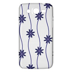 Geometric Flower Seamless Repeating Pattern With Curvy Lines Samsung Galaxy Mega 5 8 I9152 Hardshell Case  by Simbadda