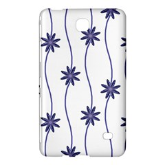 Geometric Flower Seamless Repeating Pattern With Curvy Lines Samsung Galaxy Tab 4 (8 ) Hardshell Case  by Simbadda