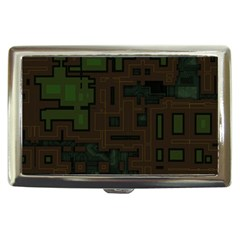 Circuit Board A Completely Seamless Background Design Cigarette Money Cases by Simbadda