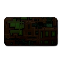 Circuit Board A Completely Seamless Background Design Medium Bar Mats by Simbadda