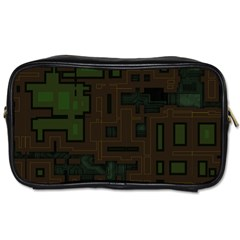 Circuit Board A Completely Seamless Background Design Toiletries Bags 2 Side by Simbadda