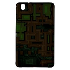 Circuit Board A Completely Seamless Background Design Samsung Galaxy Tab Pro 8 4 Hardshell Case by Simbadda