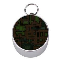 Circuit Board A Completely Seamless Background Design Mini Silver Compasses by Simbadda