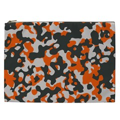 Camouflage Texture Patterns Cosmetic Bag (xxl)  by Simbadda