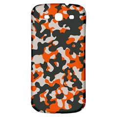 Camouflage Texture Patterns Samsung Galaxy S3 S Iii Classic Hardshell Back Case by Simbadda