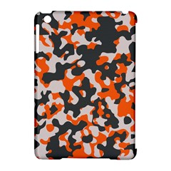 Camouflage Texture Patterns Apple Ipad Mini Hardshell Case (compatible With Smart Cover) by Simbadda